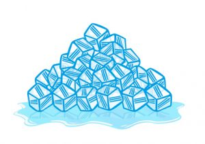 Ice Cubes melting - Icemaker