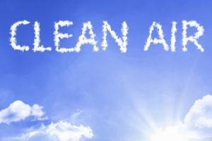 Clean air due to air filter change