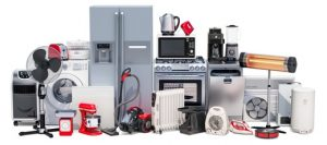 Home appliances in a hard weather