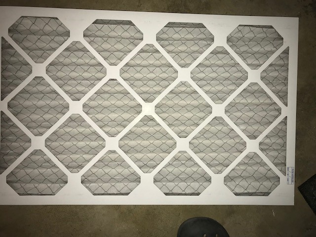 cheap and flimsy furnace filter