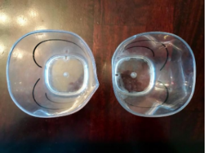 flimsy plastic cups for dishwasher