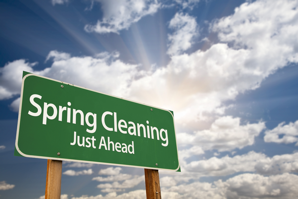 Spring Cleaning Early